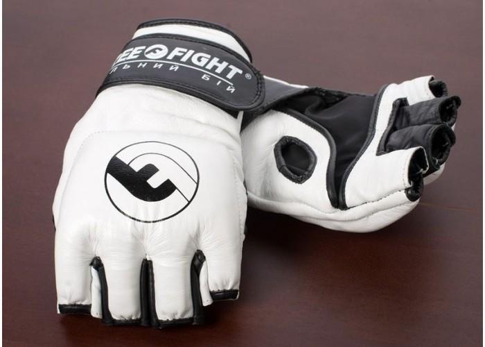 Перчатки MMA Free-Fight Gloves White (4 унции)