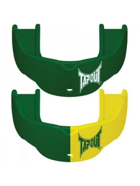 Капа TapouT (2 штуки) Green/Yellow
