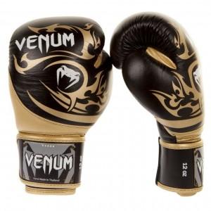 Боксерские перчатки Venum Tribal Boxing Gloves Black/Gold