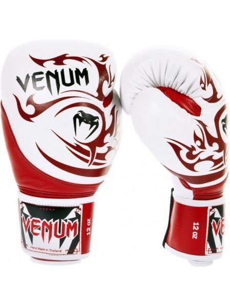 Боксерские перчатки Venum Tribal Boxing Gloves Red White