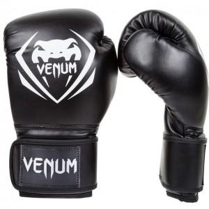 Боксерские перчатки Venum Contender Boxing Gloves Black