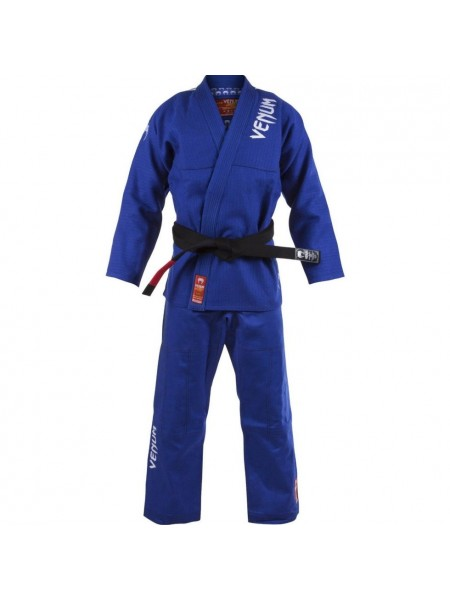 Кимоно Venum BJJ GI Absolute Gold Weave - Blue