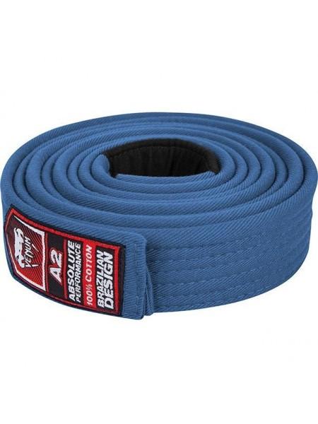 Пояс для кимоно Venum BJJ Belt - синий
