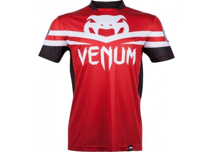 Футболка Venum Jose Aldo UFC 163 Ltd Editon Dry Tech T-shirt - Red