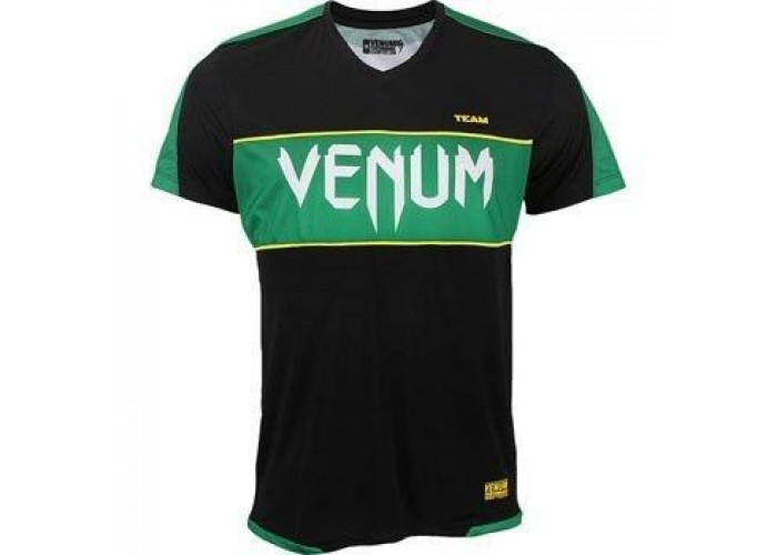 Футболка Venum Competitor Dry Tech - Brazil Inspired