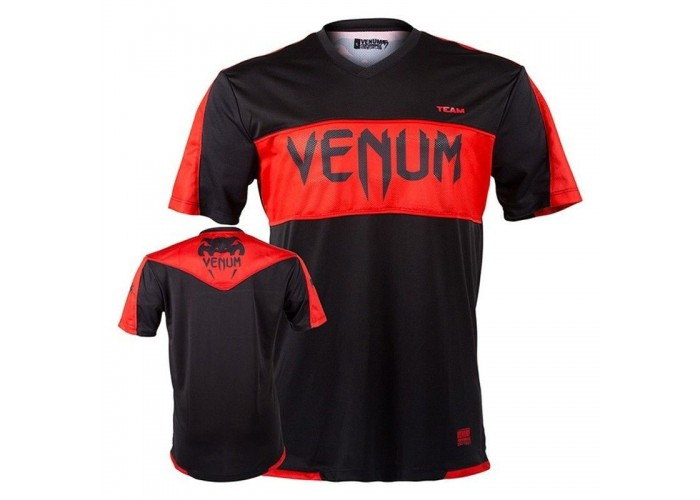 Футболка Venum Competitor Dry Tech - Red Devil