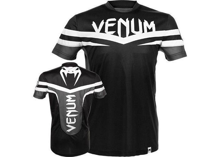 Футболка Venum - Sharp Dry Fit - Black & White