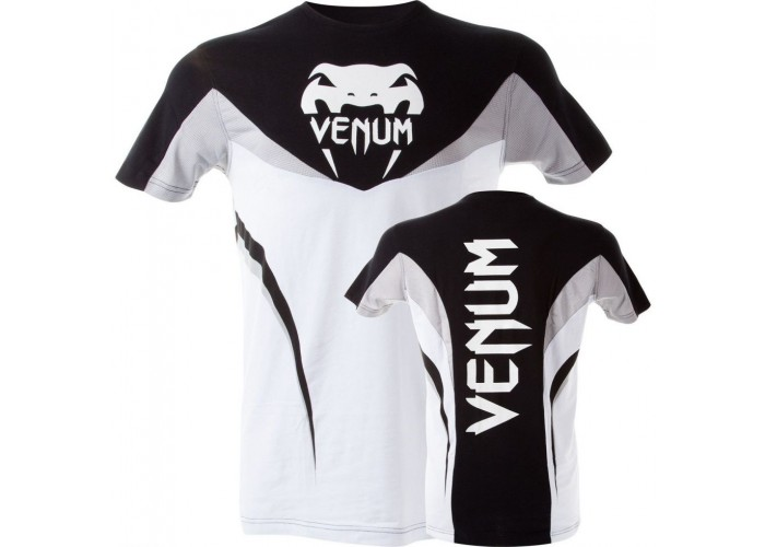 "Футболка Venum ""Shockwave 3"" T-Shirt - Black White"