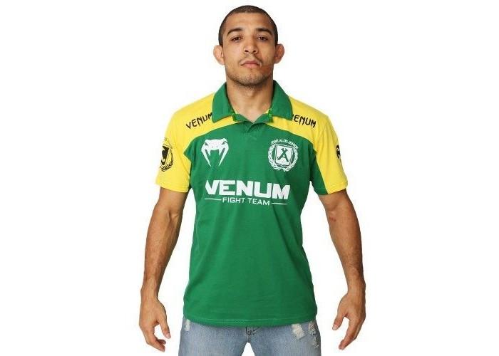 Футболка Venum Jose Aldo UFC 156 Polo - Brazil