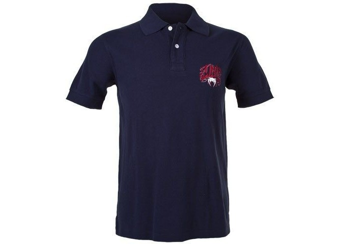 Футболка Venum Red Devil Polo - Navy
