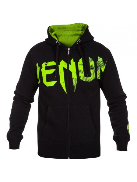 Толстовка Venum Undisputed Hoody Black Green