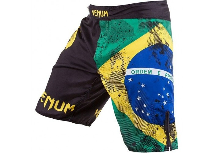 Шорты Venum Brazilian Flag Fightshorts - Black