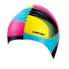 Шапочка для плавания BECO силикон 7391