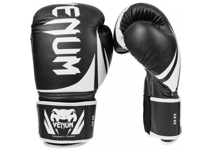 Боксерские перчатки Venum Challenger 2.0 Boxing Gloves Black