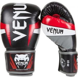 Боксерские перчатки Venum Elite Boxing Gloves Black