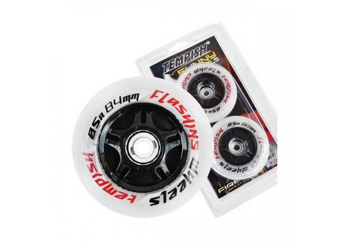 Колеса для роликовых коньков Tempish FLASHING 84x24 85A