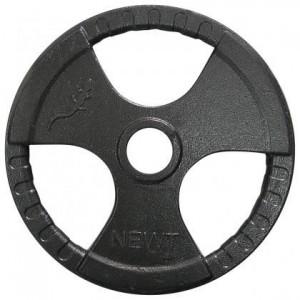 Диск олимпийский с хватами Newt 25 кг