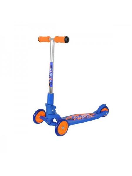 Самокат Tempish FLARE сине-оранжевый