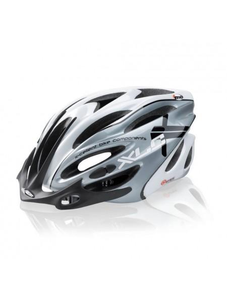 Шлем Fuego L/XL (58-62 см), бело-серый  XLC