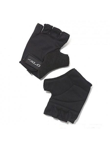 Перчатки велосипедные Saturn XLC, черные, размер M