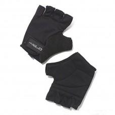 Перчатки велосипедные Saturn XLC, черные, размер L