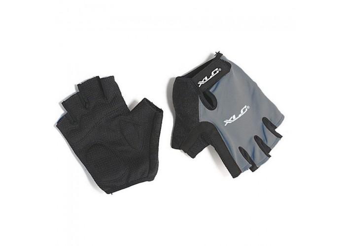 Перчатки велосипедные Apollo XLC, черно-серые, размер  S