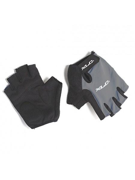 Перчатки велосипедные Apollo XLC, черно-серые, размер L