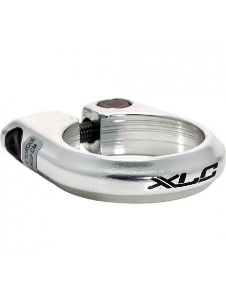 Зажим для подседельной трубы XLC PC-B01, 31,8 мм, серебристый