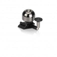 Звонок велосипедный XLC DD-M011, темно- серебряный