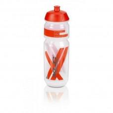 Фляга XLC WB-K03, прозрачно- красная 750 мл.