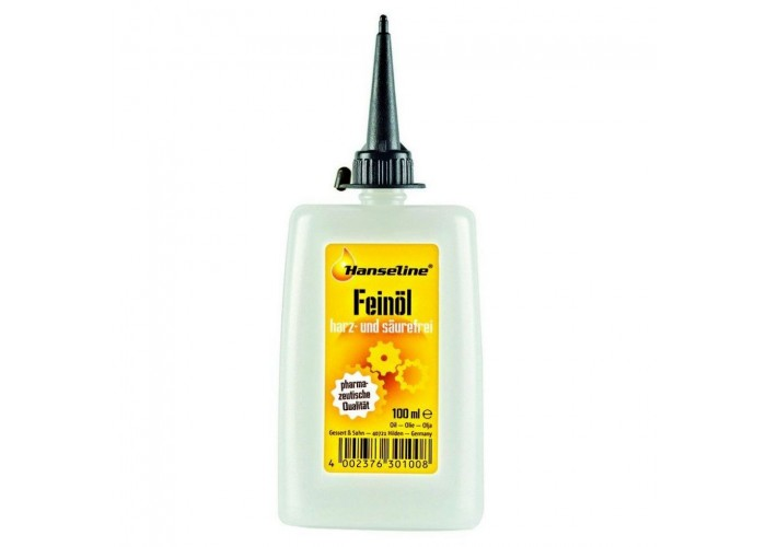 Смазка высокоочищенная, Hanseline Feinoil, 100мл