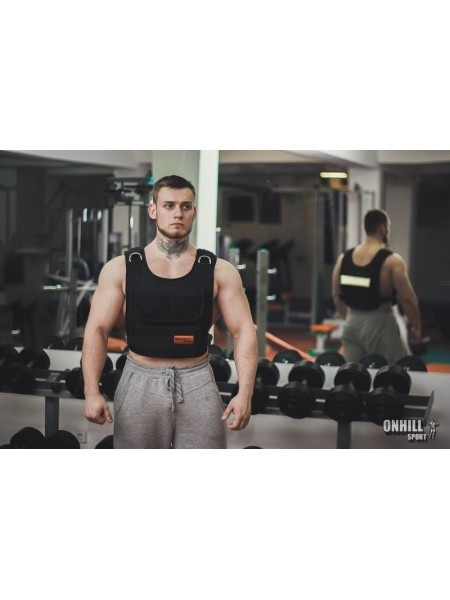 Жилет утяжеленный профессиональный 1-10 кг ( р.46-48,48-50,50-52)