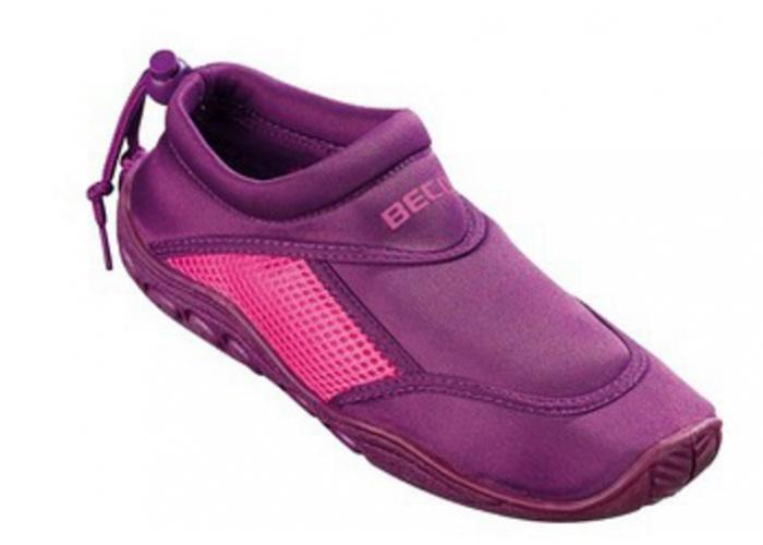 Тапочки для серфинга и плавания BECO 9217 774 пурпурный/розовый