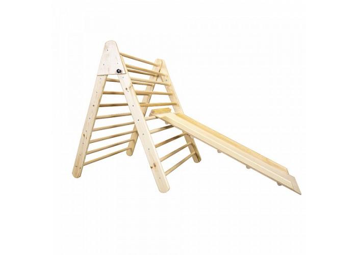 Детский деревянный тринажер пиклера - Лак